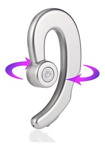 prateado c9 bluetooth headset nuvem conduz movimento de cond