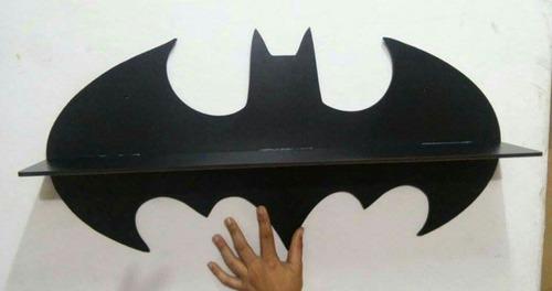 prateleira batman em mdf cru - sem pintura