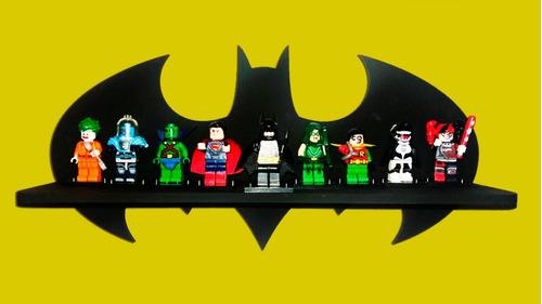 prateleira batman exposição lego + 6 legos !