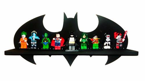 prateleira batman exposição lego + 6 legos brinde !