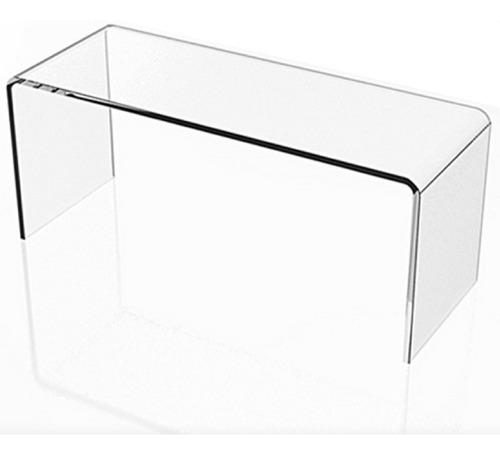 prateleira cubo nicho acrílico vitrine 30x15x15cm