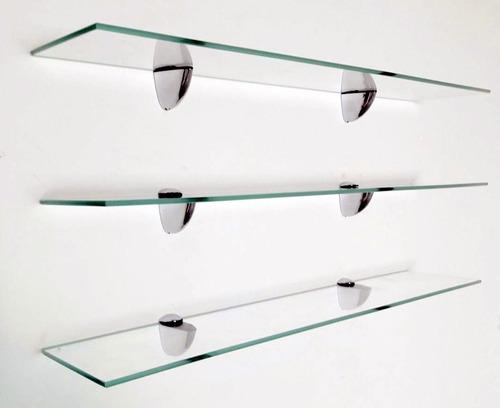 Estante De Vidro Temperado : Prateleira de vidro temperado lapidado 8mm 0.60 x 0.25 01pç r$ 99