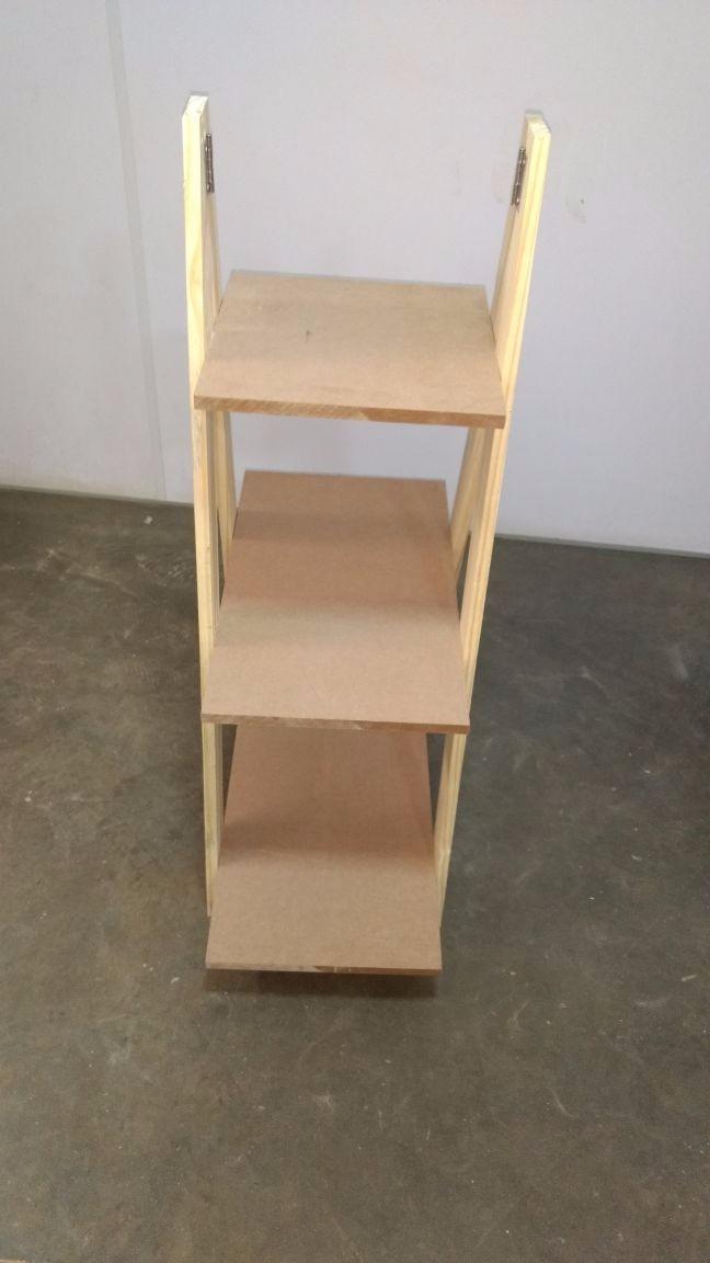Adesivo De Led Para Copo ~ Prateleira Estante Escada Armário Suporte Plantas Mdf Cru