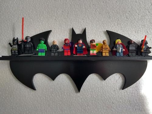 prateleira m.i bonecos batman expositor