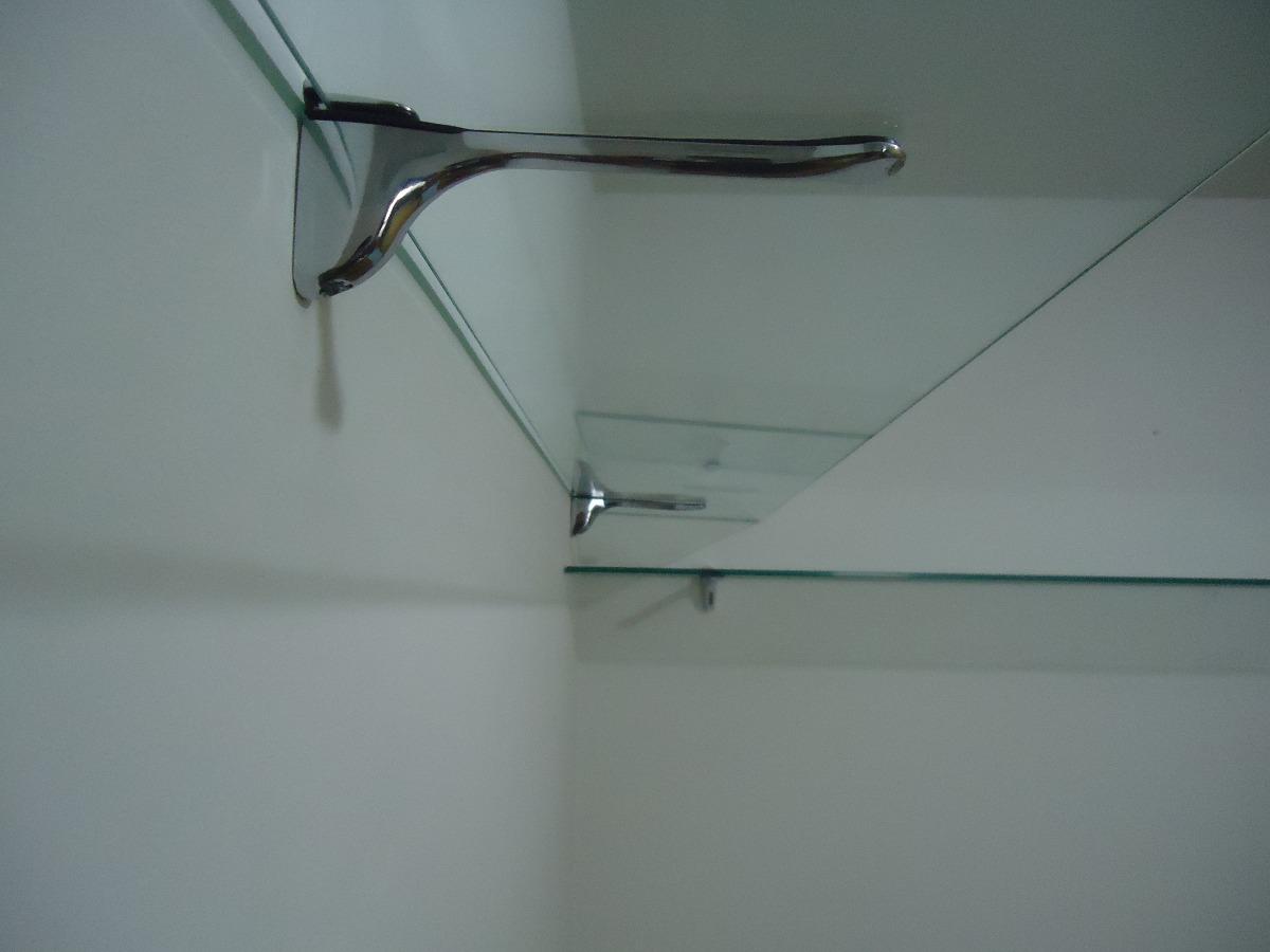 Estante De Vidro Temperado : Prateleiras de vidro temperado mm e incolor r