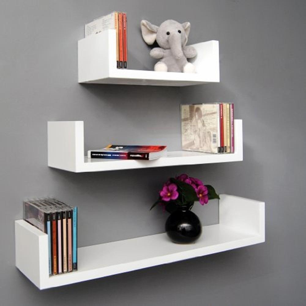 Prateleiras para quarto livros nayan mix branco 3 pe as - Estanterias de pared amazon ...