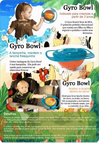 pratinho educativo gyro bowl 2 peças    aproveite!!!