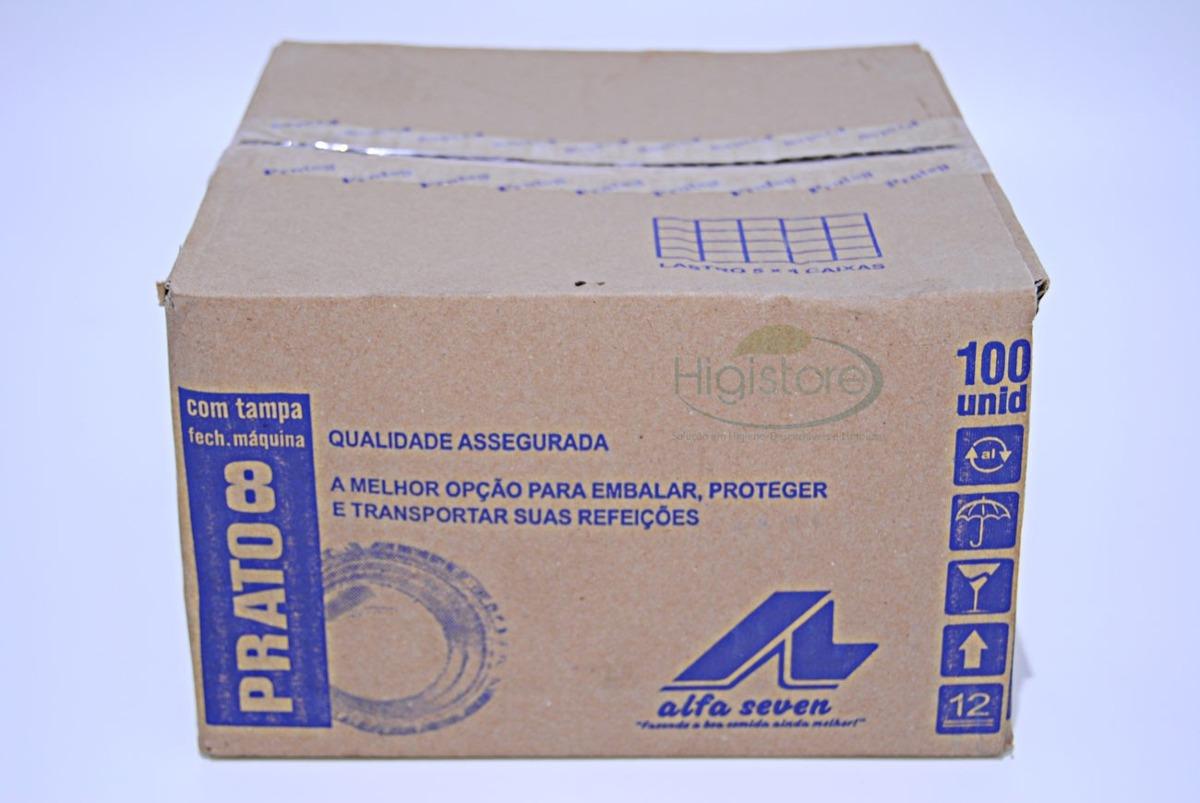 Prato Alumínio Marmitex Máquina Numero 8 Com 100 Unidades R$ 24 10  #2C429F 1200x803