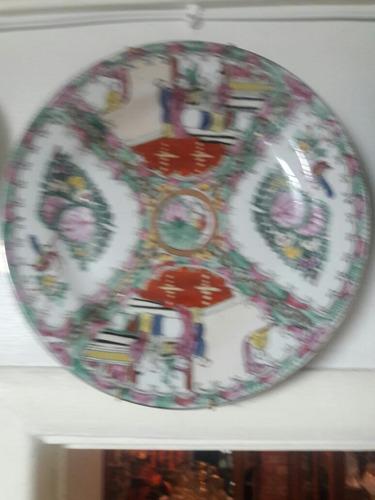 prato antigo em porcelana japonesa
