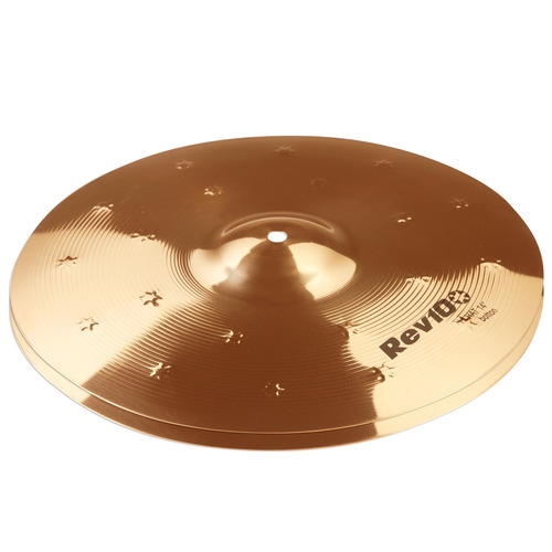 prato bateria chimbal hi hat rev 10 rv14hh 14'' b10 orion
