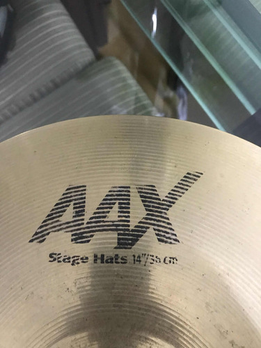 prato chimbal hit-hat sabian aax estage hats 14