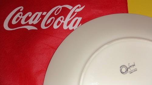 prato coca-cola garrafa porcelana oxford