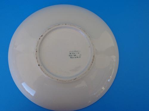 prato de porcelana monte sião (anos 80)