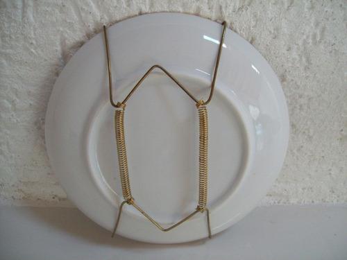 prato decorativo em porcelana -15,5 cm
