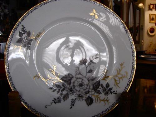 prato decorativo em porcelana bavaria