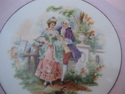 prato decorativo em porcelana germany