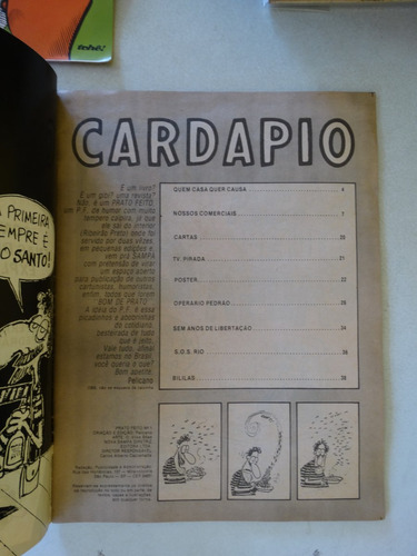 prato feito nº 1  nova sampa junho 1988!