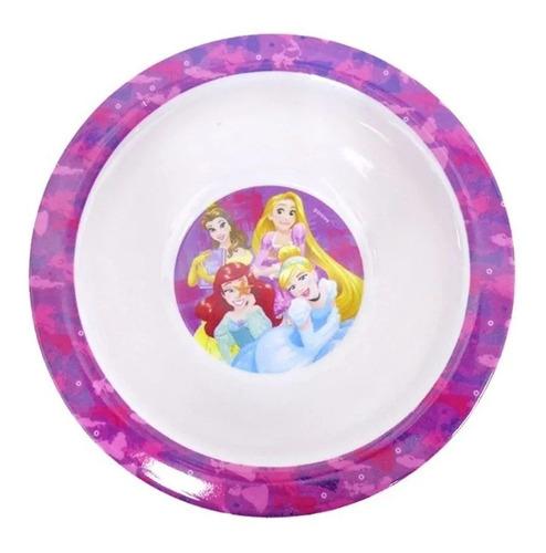 prato fundo tipo tigela em melamina princesas disney - gedex