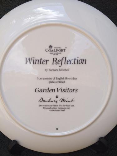prato ingles em porcelana coalport visitantes no jardim 10