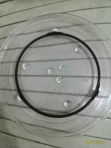 prato microondas panasonic piccolo style nn-st-341w 27cm