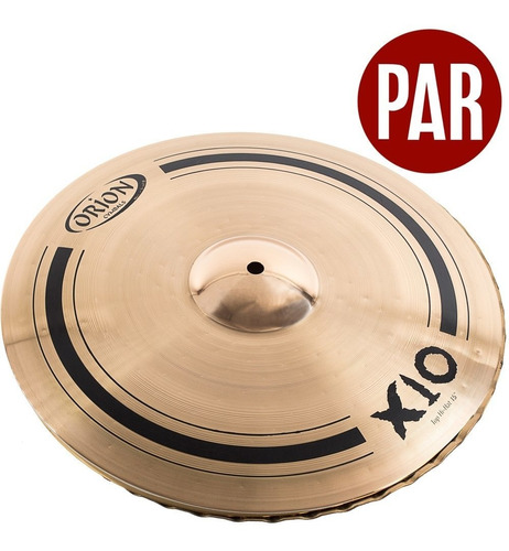 prato orion chimbal hi hat 15 personalidades spx15hh b10