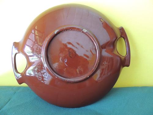 prato ou centro de mesa ou fruteira cerâmica weiss