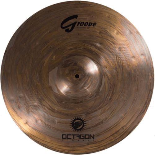 prato para bateria power ride 20 groove gr20pr octagon
