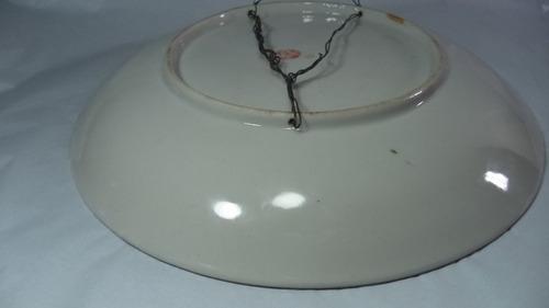 prato porcelana japonesa satsuma antigo trabalho em ouro