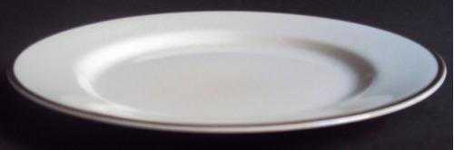 prato (s) jantar inglês porcelana johnson bros borda dourada