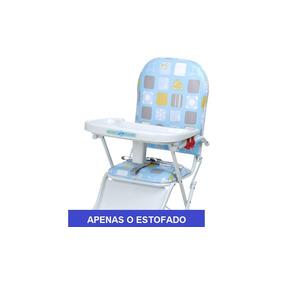 fdb5e7e2f Estofado Para Cadeira Alimentaçao Burigotto no Mercado Livre Brasil