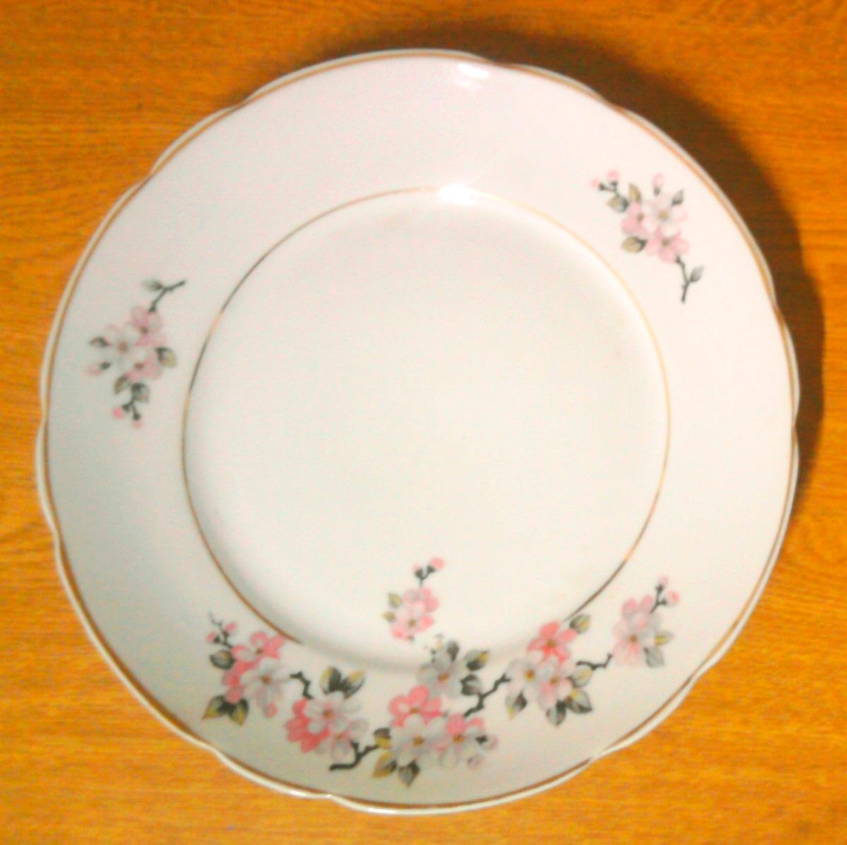 Pratos de porcelana antigos real r 52 00 em mercado livre for Marcas de vajillas de porcelana