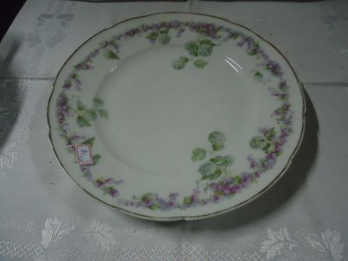 pratos porcelana decô