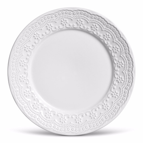 pratos porto brasil madeleine branco raso e sobremesa 8 uni