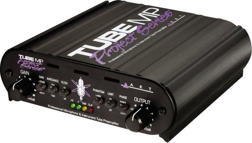 pre amplificador art tube mp project series microfono instru