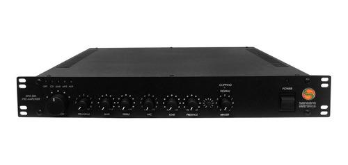 pré-amplificador c/ chamada e gongo spg 300 sansara