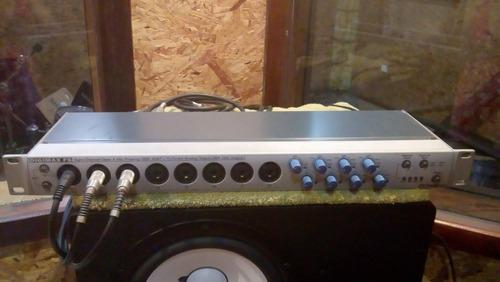 pré-amplificador de microfone presonus digimax fs