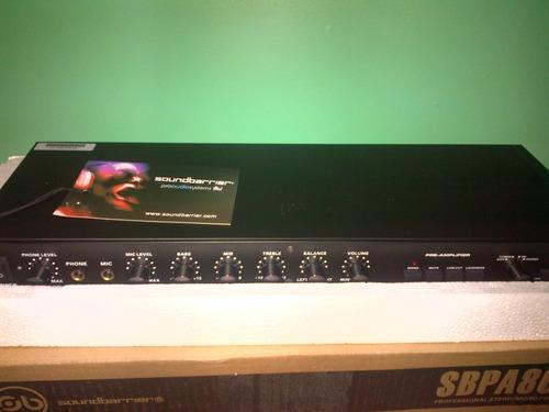 pre amplificador o crossover soundbarrier sbpa800b (95)
