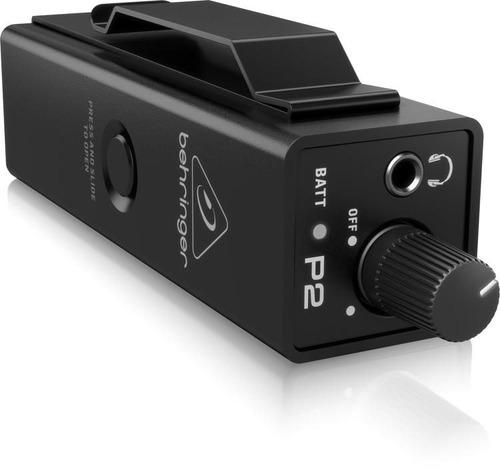 pré amplificador para fone de ouvido behringer powerplay p2