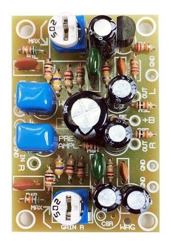 pre amplificador phono toca discos riaa placa p/ embutir