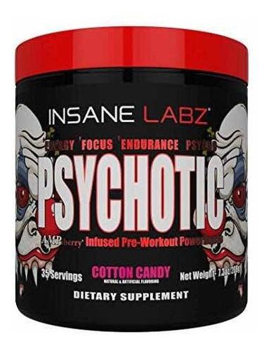 pre entreno insane labz psychotic 35 servicios todos los sabores!