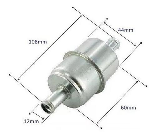 pré filtro tela inox  alta vazão p/ mangueira 12mm kit c/4