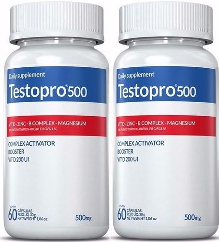 pré hormonal kit 2 testopro 500 ganho de massa força