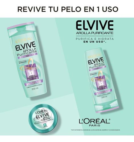 pre shampoo arcilla purificante x150 elvive loreal paris