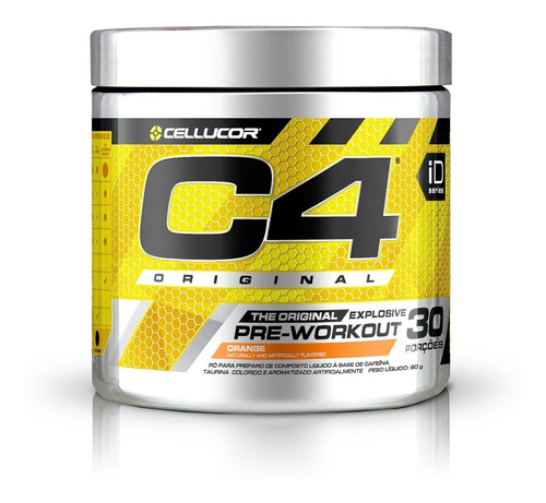 pre treino c4 30 doses varios sabores importado  - cellucor