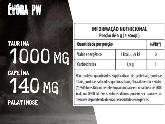ad2cb0fb4 kit 3x pré treino darkness evora pw 300g - integralmedica · pré treino  integralmedica