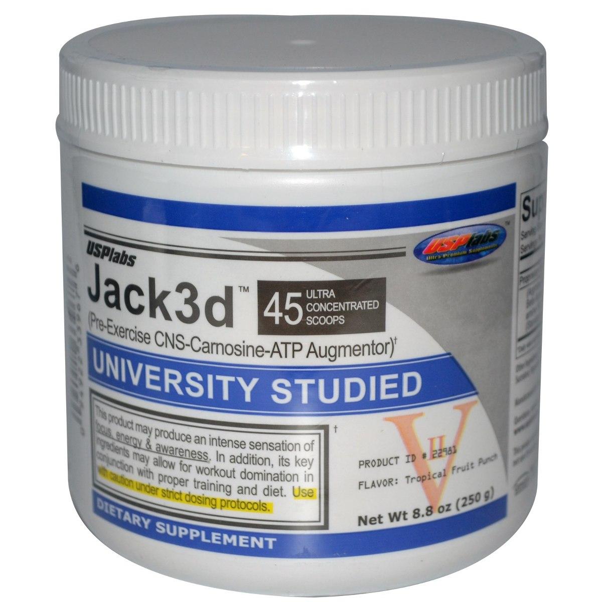Pré Treino Jack 3d 45 Doses Fórmula Antiga Dmaa P Entrega