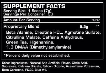 Pre Treino Venom 30 Doses Ultimos C/ Dmaa - Dragon Pharma