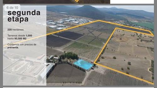 pre venta de lotes industriales desde 1000m2 en parque pyme