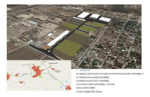 pre-venta de lotes industriales en el marqués qro. desde 997m2
