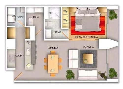 pre venta en elite residence coyoacan, coyoacan d.f.
